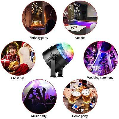 Party Disco Lights Strobe Led Dj Ball Sound Activated Dance Bulb Lamp Decoration