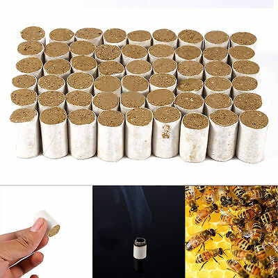 54pcs/Set Beekeeping Tools Bee Hive Smoker Fuel Chinese Herb Smoke Honey Made
