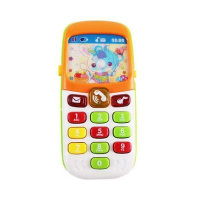 Kids Baby Simulator Music Cell Phone Toy Touch Screen Educational Learning Toy
