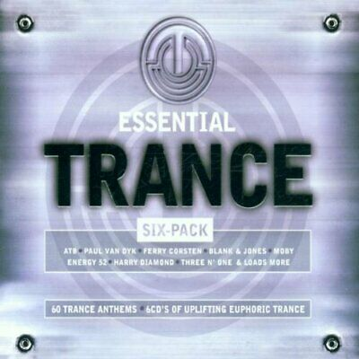 Various Artists - Essential Trance Six Pack - Various Artists CD FMVG The Cheap