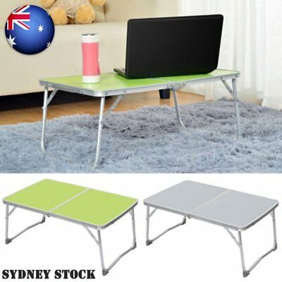 Folding Portable PC Notebook Table Laptop Stand Camping Desk Tray on Bed AMD
