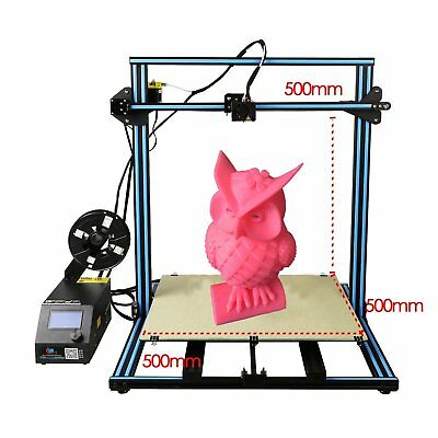 2018 CREALITY CR-10 S5 DIY 3D Printer 500x500x500mm With Filament Detector OZ