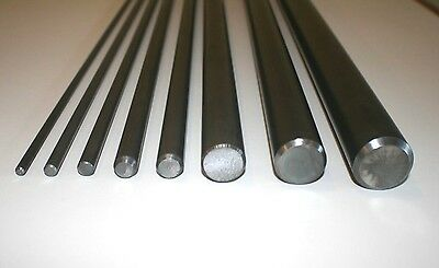 "Mild Steel Round Bar 1/4"" - 1 1/2"" Dia 100mm - 1000mm lengths"