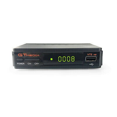 FTA GTMEDIA DVB-S/S2 V7S Wifi Satellite Receiver Bisskey Digital Full HD 1080P