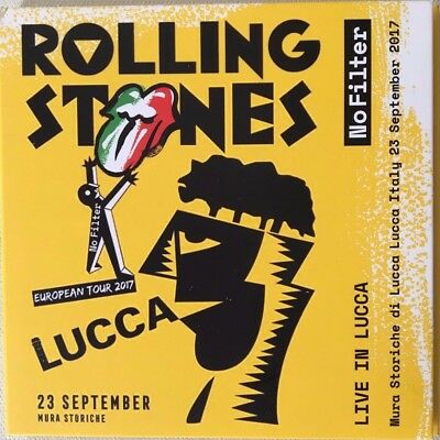 """Rolling Stones """"no Filter - Live In Lucca"""" Rare Double Live Neuf !"""