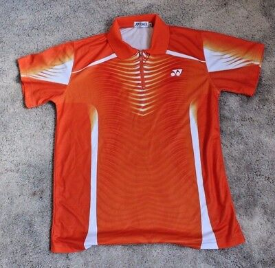 Yonex Badminton / Tennis Shirt in Orange Size M