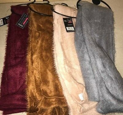 Ladies Snood Winter Warm Scarf 4 Colours Soft Neck Warmer Quality Fluffy New