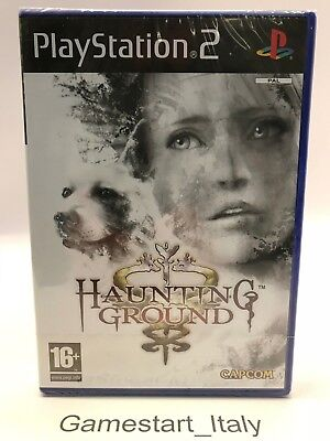 Haunting Ground - Sony Ps2 Playstation 2 - New Pal Version Nuovo Sigillato