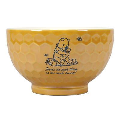 Official Winnie The Pooh Honeycombe Ceramic Breakfast Bowl