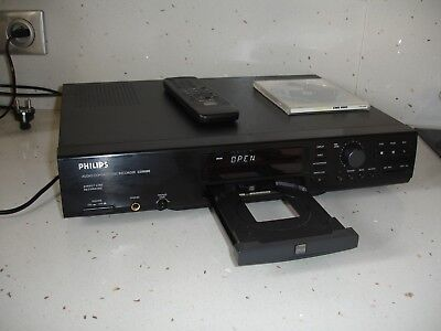 Platine PHILIPS CDR880 CD Recordable Rewritable compact disc