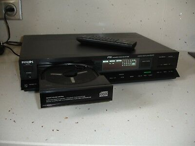 Platine  PHILIPS CD 473 Compact Disc Player - télécommande remote control