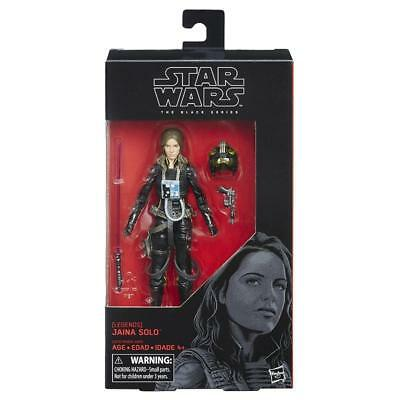 "Star Wars The Black Series Jaina Solo 6"" Action Figure Toy"