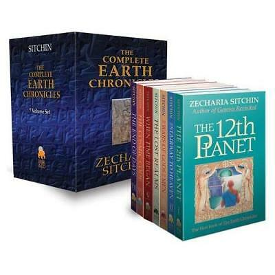 The Complete Earth Chronicles Sitchin, Zecharia
