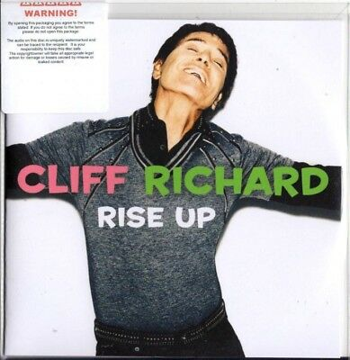 Cliff Richard 2018 PROMO CD ALBUM Rise Up
