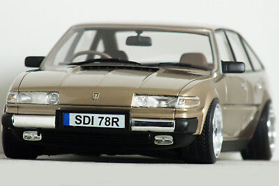 "1:18 Cult ""ROVER SD1 3500 V8 Series-1"" (Midas Gold) MODIFIED TUNING Code 3 UMBAU"