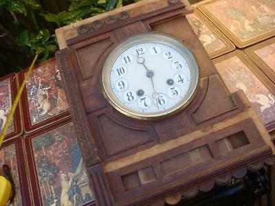 Vintage  Clock  Movement  For Restoration , Spare Or repair