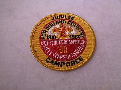 1960 National Scout Jamboree Boy Scouts Patches #4