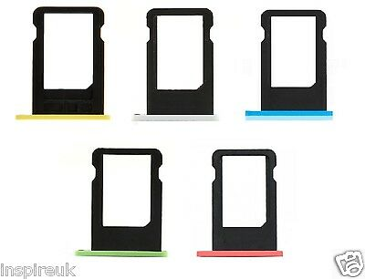 Replacement Apple Nano SIM Card Tray Slot Holder Repair Part for iPhone 5C