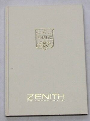 Zenith Watches, A Book Of Zenith History& Photos &details Of Many Zenith Watches