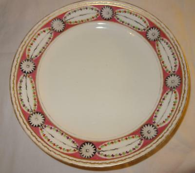 Early 19th Century Old Paris French Porcelain Plate - Signed for POTTER a Paris