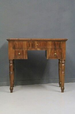 Small Secretary Desk Wooden And Briar Walnut,Period Nineteenth Century/