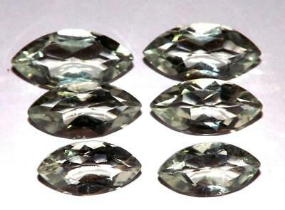 30.25 cts Prasiolite Green Amethyst  100% Natural Gemstone Lot #hga137