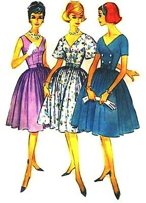 Dress With Three Different Bodices Doll Pattern 5407 New Tonner Or Barbie