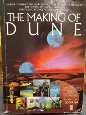 Making of Dune by Naha, Ed Paperback Book The Cheap Fast Free Post