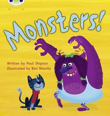 Bug Club Phonics Bug Set 12 Monsters! by Shipton, Paul Paperback Book The Cheap