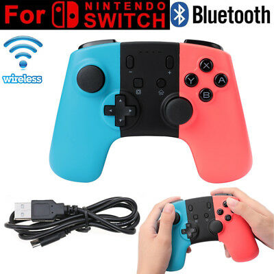 Wireless Pro Controller Gamepad Joypad Joystick Remote for Nintendo Switch Blu-R
