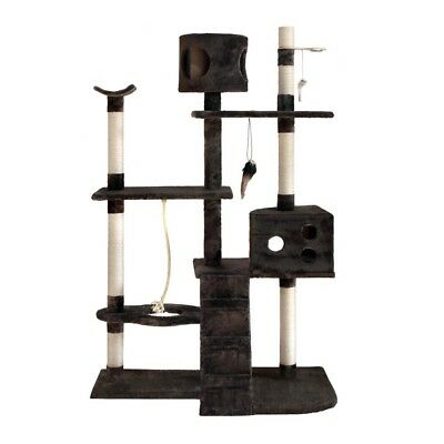 New CAT SCRATCHING TOWER SCRATCH TREE House Pole Gym Post Kitten Large