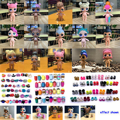 LOL Surprise Glam Glitter KITTY QUEEN Queen Bee Doll w/ Random dress shoes toys