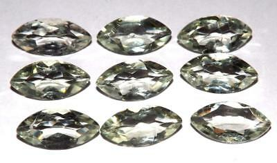 31.55 cts Prasiolite Green Amethyst  100% Natural Gemstone Lot #hga139