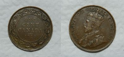 Canada : Large Cent 1913