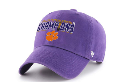Clemson Tigers Cfp National Champions 2018 '47 Clean Up Cap