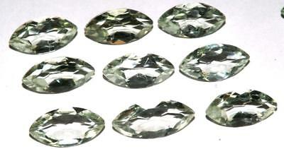 34.10 cts Prasiolite Green Amethyst  100% Natural Gemstone Lot #hga140