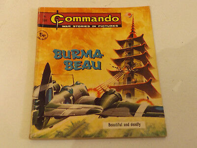 Commando War Comic Number 584 !!,1971 Issue,good For Age,58 Years Old,very Rare.