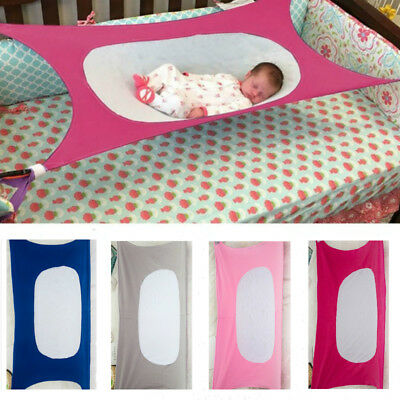 Baby Infant Hammock Safety Portable Kids Sleeping Bed Safe Detachable Cot Crib