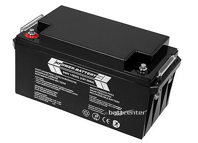 12V 65Ah RPower AGM-Batterie