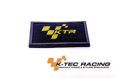 K-Tec Racing Clio 3 RS 197/200 Performance Panel Air Filter