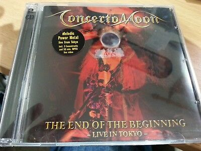 Concerto Moon Rare 2Cd Limited Edition Box Set End Of The Beginning Live Tokyo