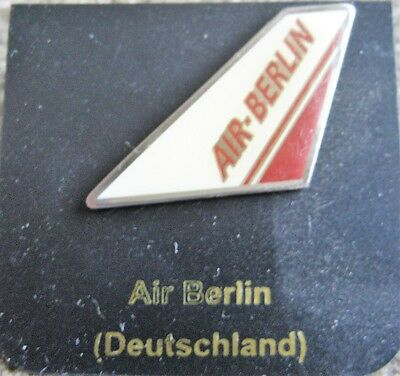 Collectables Air Berlin Airlines Airways Old Vintage Logo Tail Pin Lapel Badge Aeronautica
