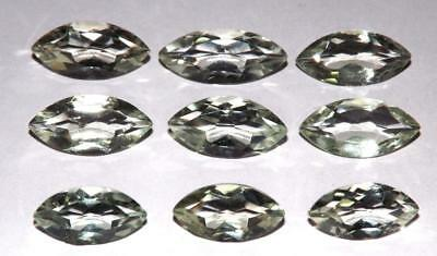 40.65 cts Prasiolite Green Amethyst  100% Natural Gemstone Lot #hga142