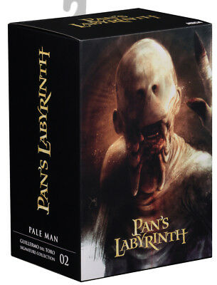"""Guillermo del Toro Signature Collection 7"""" Pale Man Pan's Labyrinth Action Figur"""