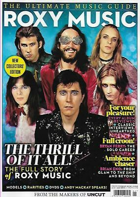 UNCUT ULTIMATE MUSIC GUIDE MAGAZINE-ROXY MUSIC*Post included to UK/Europe/USA