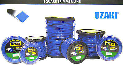 Square Strimmer Brushcutter Trimmer Nylon Line Cord - 1/2KG Rolls Check Listing