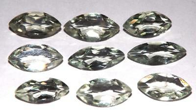 31.55 cts Prasiolite Green Amethyst  100% Natural Gemstone Lot #hga143