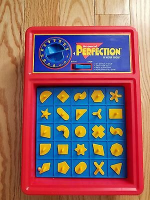 1990 VINTAGE Milton Bradley The Game of Perfection Tested 100% Complete
