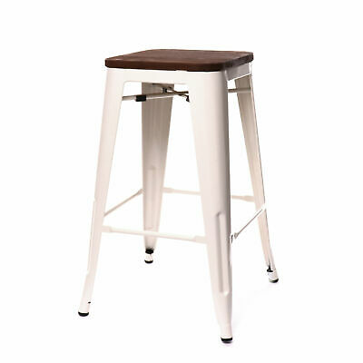 Williston Forge Despres Steel Stackable Counter 26 Bar Stool Set Of