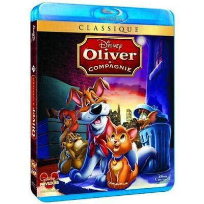 """Blu-ray """"Oliver and Compagnie""""  Disney N° 32   NEUF SOUS BLISTER"""